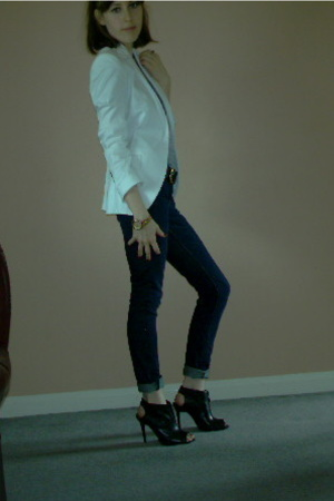 Zara blazer - Gap jeans - Office shoes