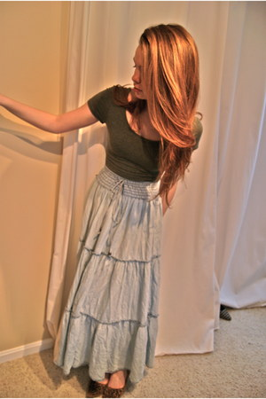 Forever 21 shirt - H&M skirt