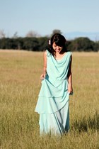 light blue DIY dress