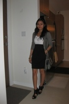 Costa Blanca - Costa Blanca - Urban Behaviour skirt - Aldo shoes - Gucci purse -