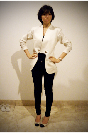 blazer - Zara jeans - Zara shoes