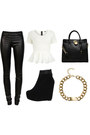 Black-leather-leggings-black-large-tote-michael-kors-bag-white-peplum-top