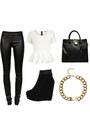 Black-leather-leggings-black-large-tote-michael-kors-bag-white-peplum-top