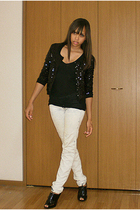 Zara sweater - BikBok jeans - Nine West shoes