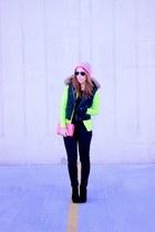 Michael Kors boots - Forever 21 hat - Target sweater - J Crew pants - Gap vest