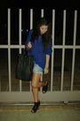F21-sweater-urban-outiftters-shorts-jeffrey-campbell-shoes-h-m-purse-vin