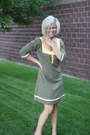 Olive-green-roxy-dress