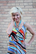 maxi dress dress - turquoise Urban Outfitters necklace