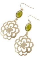 Stone-flower-earrings
