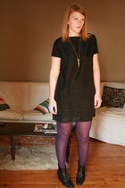 Built by Wendy dress - Uniqlo stockings - Rachel Comey boots