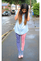 chambray shirt Republic chambray shirt shirt - Ebay leggings