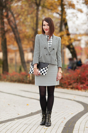 checkered Zara jacket