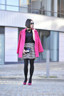 Pink-atmosphere-coat-striped-h-m-skirt