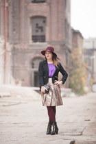 Parfois hat - H&M skirt