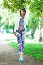 new look jacket - H&M pants