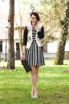 stripes prints new look dress