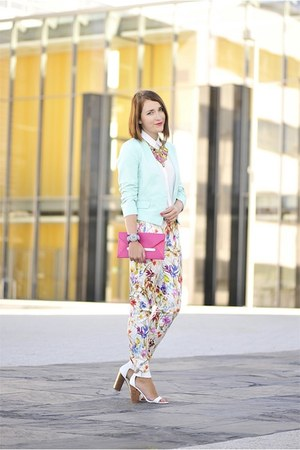 floral reserved pants