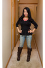 Target-boots-tommy-hilfiger-jeans-peplum-body-central-top