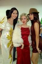 njork dress - vintage coat