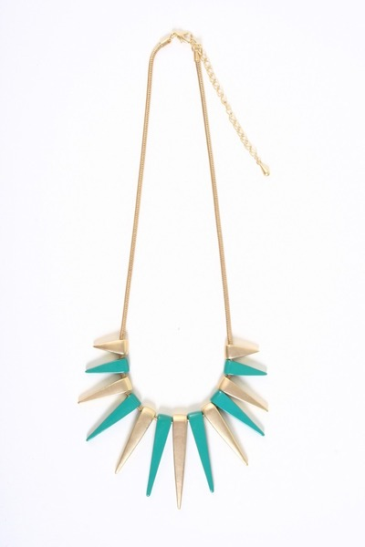 turquoise blue necklace