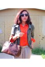 Orange-thrifted-shirt-betsey-johnson-sunglasses