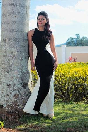 shoes Black Five shoes - maxi dress Romwecom dress