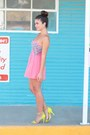 Bubble-gum-windsor-store-romper-lime-green-target-heels