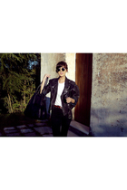 vintage jacket - April77 pants - vintage sunglasses