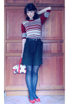 shorts - sweater - shoes