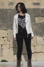 White-papaya-jacket-blue-stradivarius-shirt-red-bijou-brigitte-necklace-bl