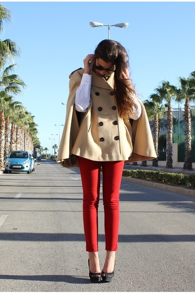 Zara pants - Zara shoes - Tommy Hilfiger coat