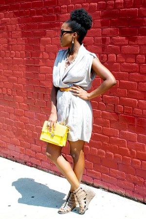 asos bag - Zara dress - H&amp;M sandals - Forever 21 earrings