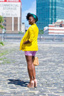 H-m-blazer-zara-bag-jcrew-shorts-asos-sandals-h-m-blouse-etsy-necklace