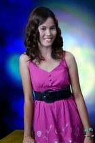 bubble gum mini dress dress