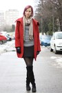 Brick-red-h-m-coat-heather-gray-nowistyle-sweater-brown-nowistyle-scarf