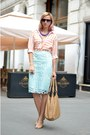 Nude-bb-up-shoes-peach-stripped-nowistyle-shirt-nude-benvenuti-bag