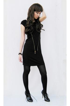 httpskinnyheelsblogspotcom dress - Wufenpu Taipei shoes - Topshop stockings - ht