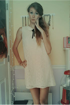 ivory lace Forever 21 dress