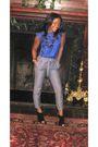 Banana-republic-blouse-gold-bebe-pants-bakers-shoes-vintage-accessories