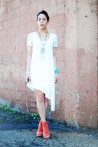Jeffrey Campbell shoes - Cheap Monday dress - BDG t-shirt