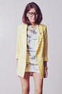 Light-blue-romwe-top-light-yellow-tricia-gosingtian-for-romwe-blazer