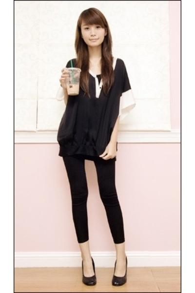 Zara top - Topshop top - Yvonnes - ilaya shoes