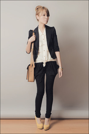 black Levis blazer - light brown School of Satchel bag
