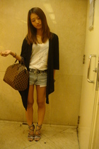 NET top - shorts - Dorathy shoes
