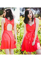 red Ya Los Angeles dress