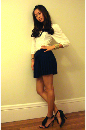 top - H&M skirt - Steve Madden shoes