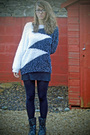 White-ebay-sweater-black-website-boots-black-topshop-tights