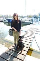 Zara cardigan - Zara jeans - Ebay boots