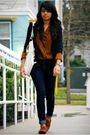Blazer-blouse-jeans-shoes-purse