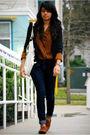 Blazer-blouse-jeans-shoes-purse